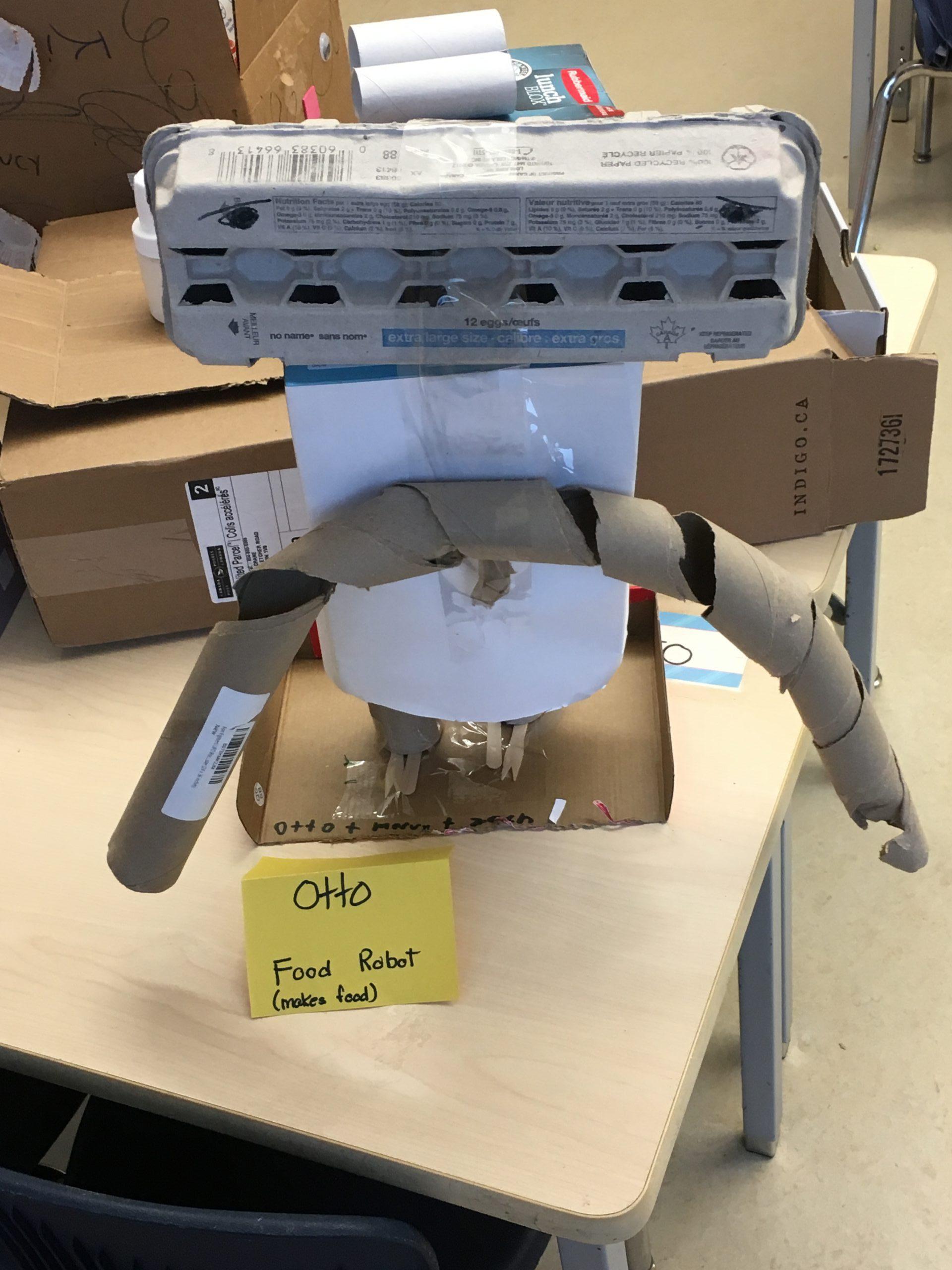 MMT food robot
